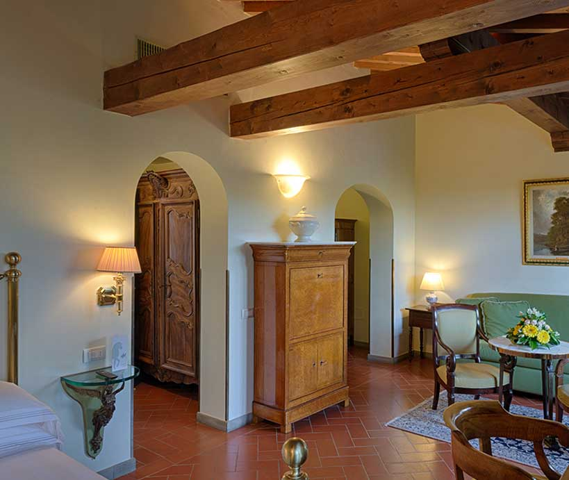 junior suite garden hotel 4 stelle superior Firenze sud